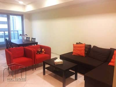 2 Bedroom Apartment for Rent in Dubai Marina, Dubai - Unfurnished | 2BR | Sea view | Available Mid Fed