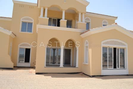 6 Bedroom Villa for Sale in Arabian Ranches, Dubai - Polo Field View- Polo Homes Type K-6 b+m- Shell & Core.