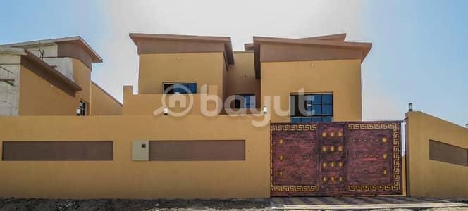 6 Bedroom Villa for Sale in Al Mowaihat, Ajman - Villa for sale Super Deluxe finishing close to Sheikh Ammar Street