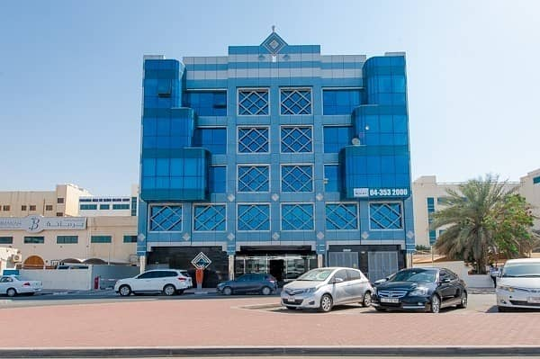 560 sq. ft. Office Space   Pantry   Parking   Al Garhoud
