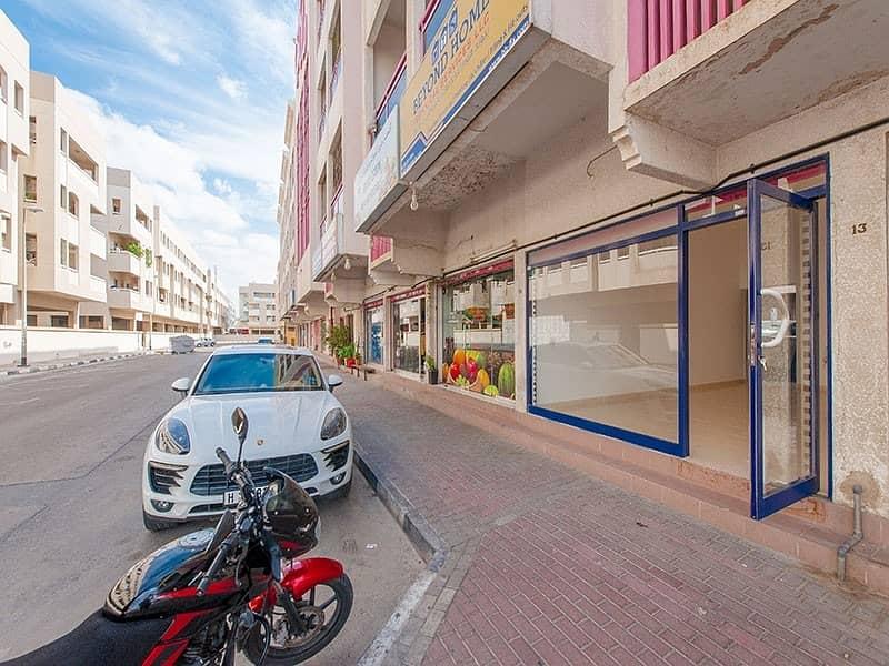Spacious 300 Sq.Ft. Shop | Al Karama