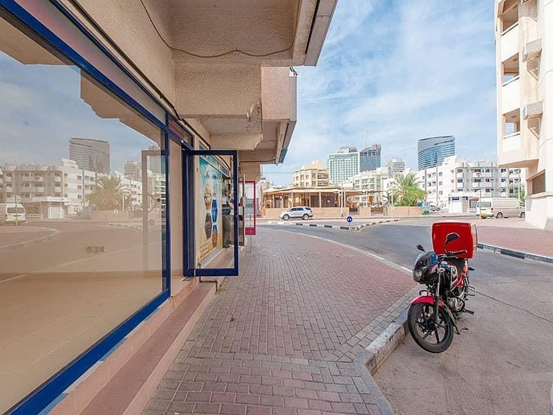 14 Spacious 300 Sq.Ft. Shop | Al Karama