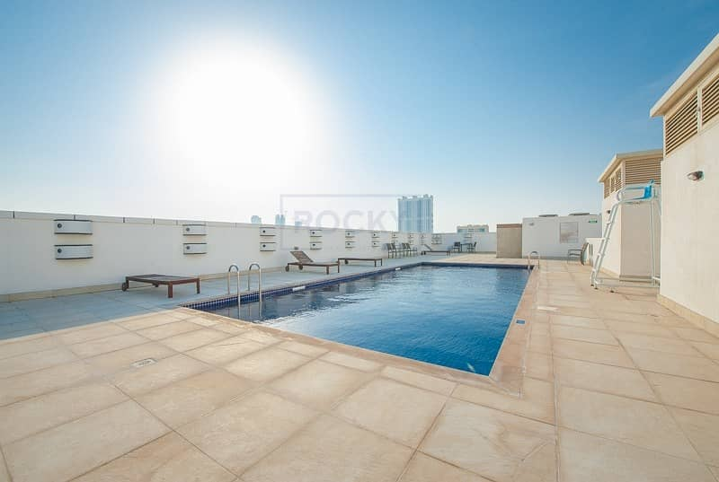 44 2 Bed  with Pool & Gym | Al Barsha