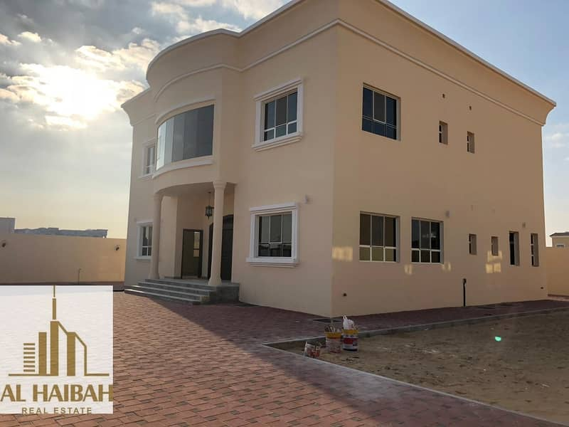 For sale a new two storey villa in Al Hoshi area
