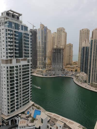 1 Bedroom Apartment for Sale in Dubai Marina, Dubai - Sea View Vacant 1BR w/Blcny Chiller Free