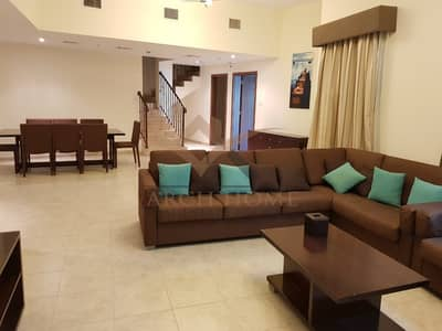 3 Bedroom Apartment for Sale in Jumeirah Village Triangle (JVT), Dubai - FULLY FURNISHED DUPLEX 3BR | IMPERIAL TA