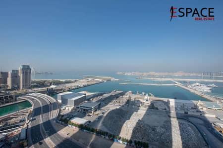 3 Bedroom Flat for Sale in Dubai Marina, Dubai - Full 180 Degree Sea View - Emirates Crown