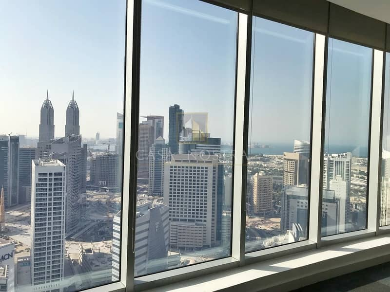 2 Higher Floor Fited Office w/Full Sea View