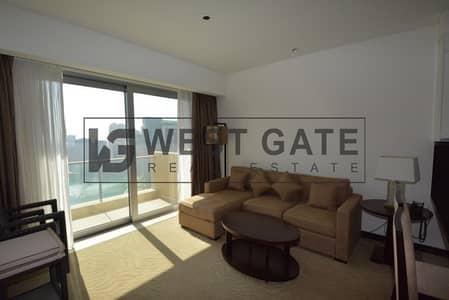 فلیٹ 1 غرفة نوم للبيع في دبي مارينا، دبي - Furnished 1 BR - High Floor- and Marina Views - TADM