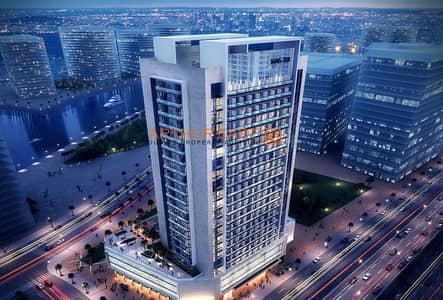 Studio for Sale in Business Bay, Dubai - Prime Location MAG 318 Burj and Canal view Business Bay