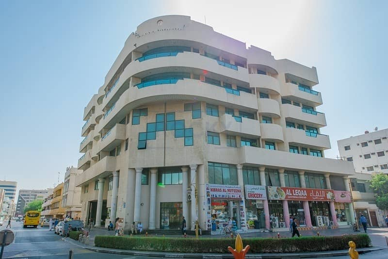 14 Spacious Office  Semi-Fitted  Central Split A/C  Deira