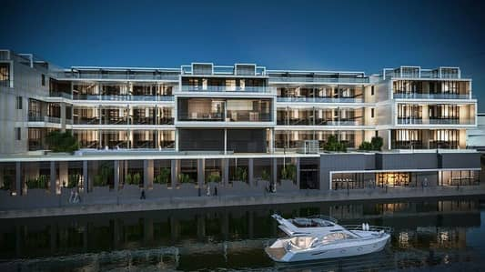 4 Bedroom Apartment for Sale in Al Raha Beach, Abu Dhabi - 4 BEDROOM DUPLEX WITH CANAL FRONT VIEW .