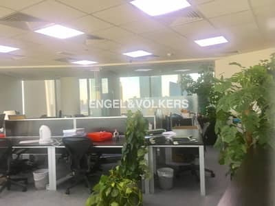 Fitted Furnished Office | With Burj View