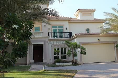 4 Bedroom Villa for Rent in Jumeirah Islands, Dubai - FULL LAKE VIEW/4 BEDROOM+MAID/ENTER FOYER/UNFURNISHED