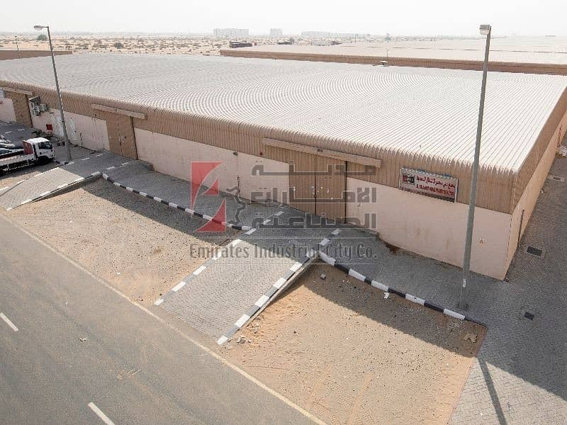 Brand New Spacious Warehouse for Rent on Emirates Rd. 611