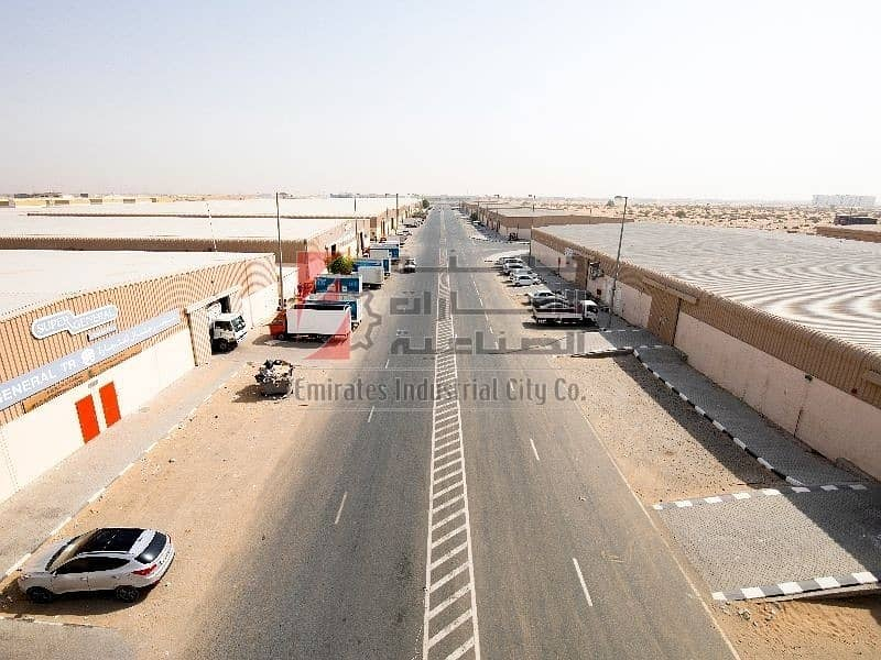22 Brand New Spacious Warehouse for Rent on Emirates Rd. 611
