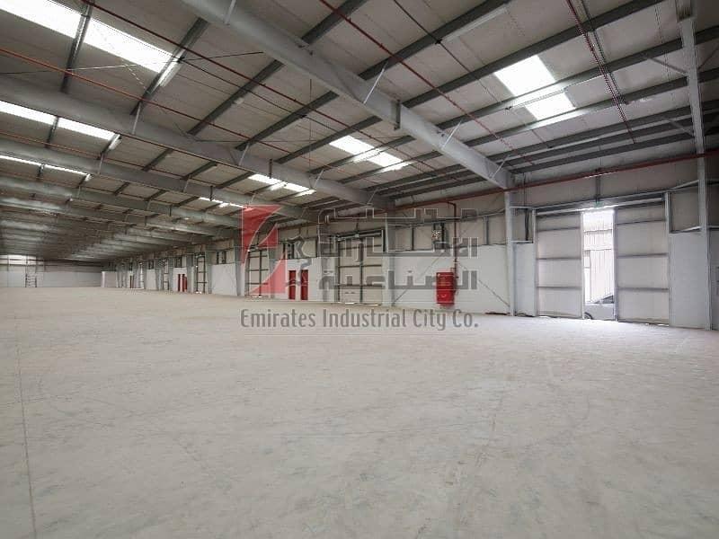 2 000 sq.ft -  4 Warehouses   - Direct from Developer