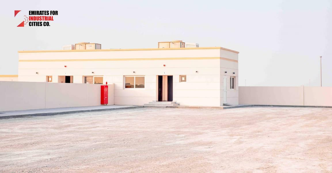 2 @ 10 AED/sq.ft Brand-New Commercial Open Yard