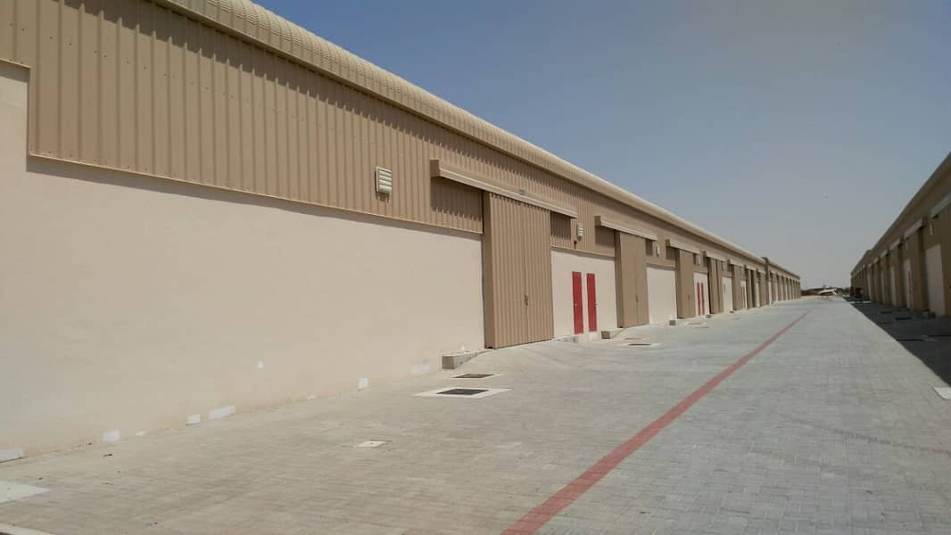 Warehouse @20AED/sq.ft - Direct from Developer