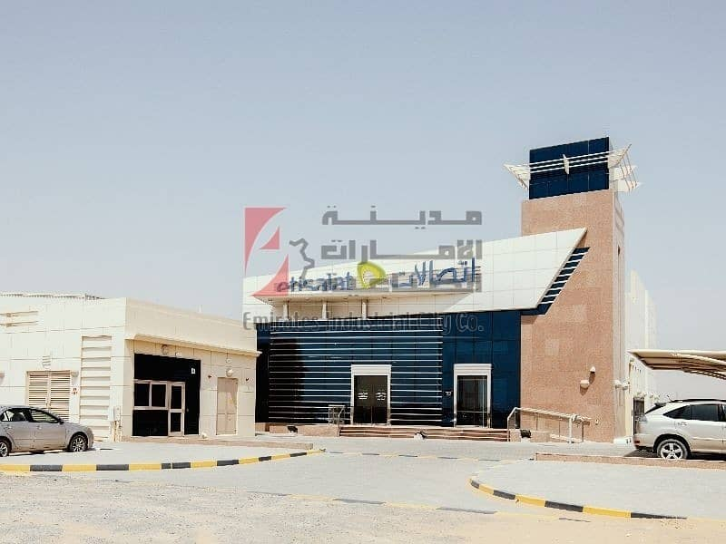 2 own for Only 80 AED/sq.ft  - Fully Developed Industrial Plot