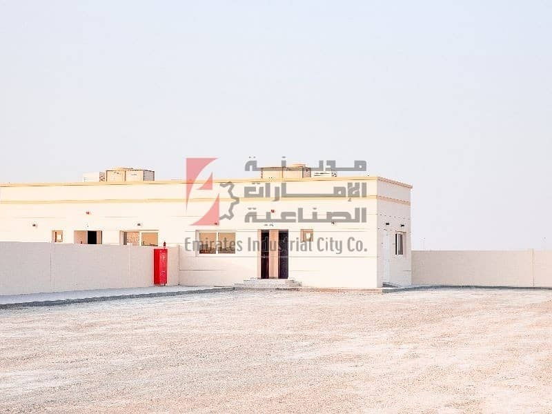 Direct From the Owner - Brand New Open Yard with Office - Sajjah Sharjah