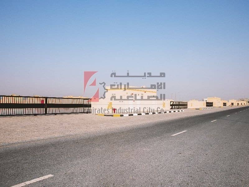 2 Direct From the Owner - Brand New Open Yard with Office - Sajjah Sharjah