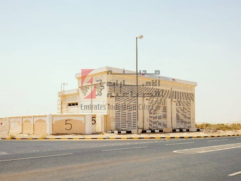 2 Fully Developed Industrial Plots to Own only 80 AED/sq/ft