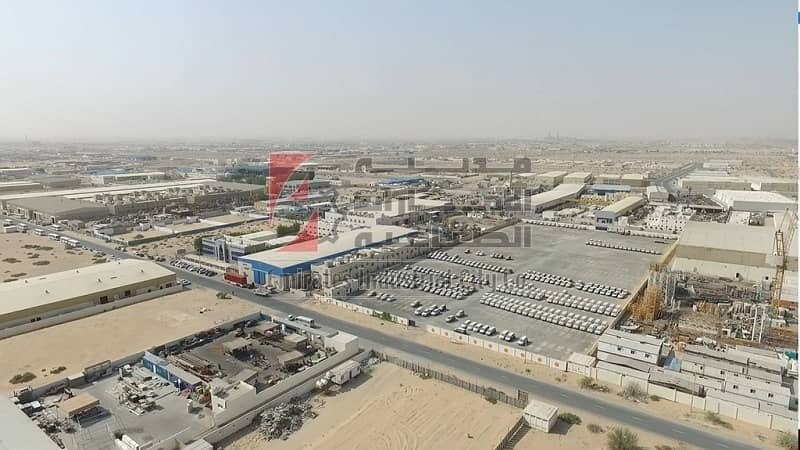 Fully Developed Industrial Plots to Own only 80 AED/sq/ft