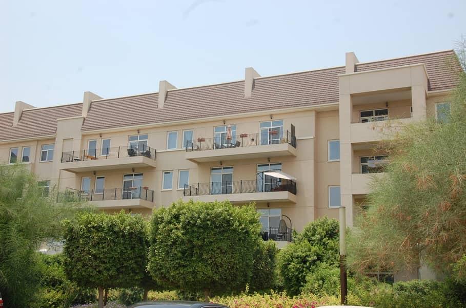 1 bed Apt For rent in Motorcity Dubai 65k-4 chq