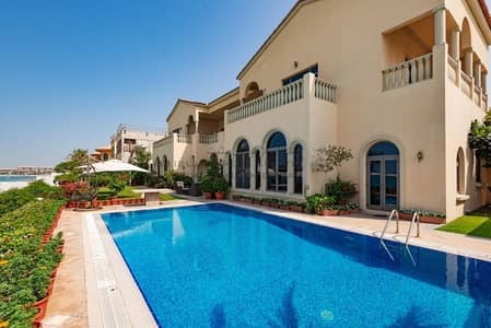 6 Bedroom Villa for Rent in Palm Jumeirah, Dubai - Unfurnished High number gallery view for rent