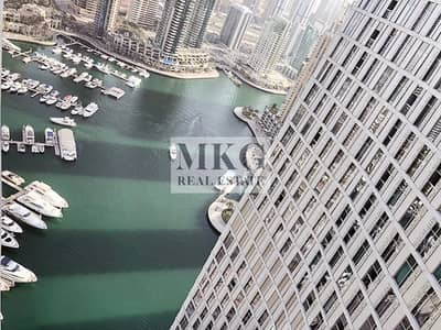 2 Bedroom Apartment for Sale in Dubai Marina, Dubai - 2BR Layout | Marina | Sea Panoramic View