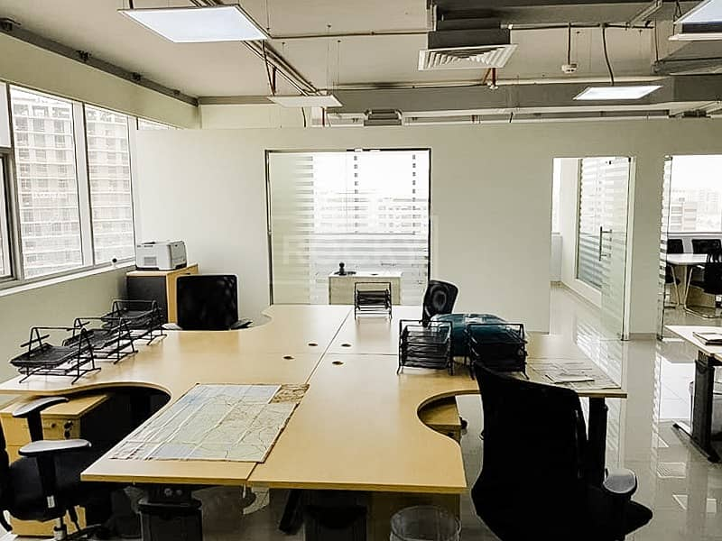 2 Furnished and Fitted Office Space in IT Plaza