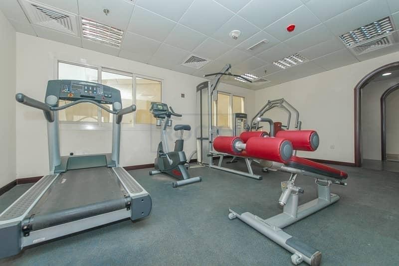 15 2  Bedroom | Central Gas System & Gym | Near Pond Park | Al Nahda