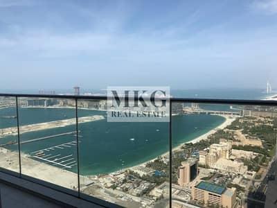 1 Bedroom Apartment for Rent in Dubai Marina, Dubai - Marina & Sea View || 1BR || Huge Balcony