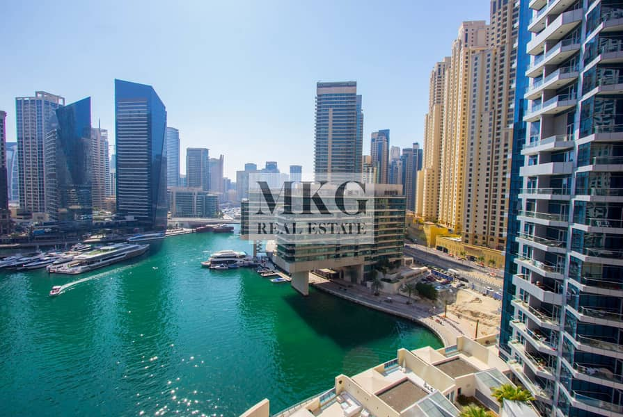 2 Full Marina View || Middle Floor || 1 BR