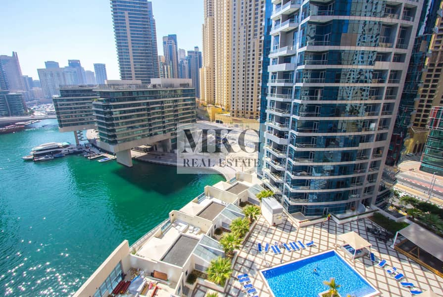11 Full Marina View || Middle Floor || 1 BR