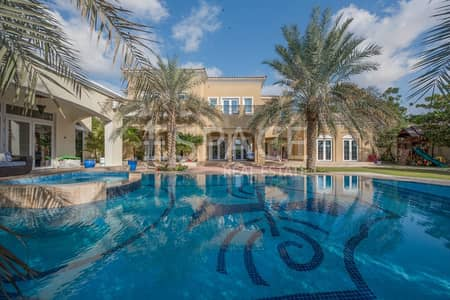 7 Bedroom Villa for Sale in Arabian Ranches, Dubai - Ranches Golf Home - Luxurious - Extended