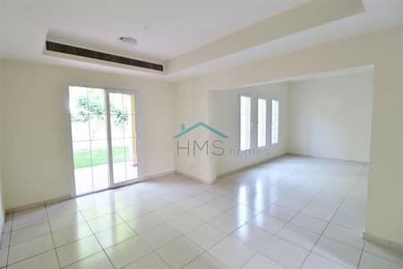 3 Bedroom Villa for Rent in The Springs, Dubai - Park & Pool View - Springs 1 - Type 1M