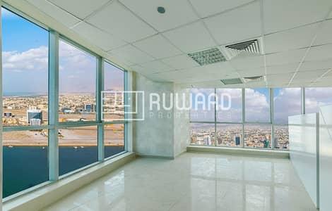 Office for Rent in Dafan Al Nakheel, Ras Al Khaimah - Amazing Sea View Office for Rent in Julphar Towers, Ras Al Khaimah