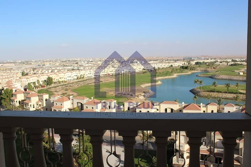 2 Stunning Golf & Lagoon View | Fully Furnished | One BHK