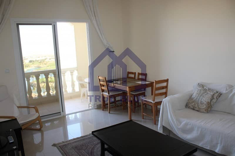 Stunning Golf & Lagoon View | Fully Furnished | One BHK
