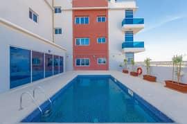 Amazing 2 B/R |  Balcony and Shared Pool & Gym | International City Phase 2