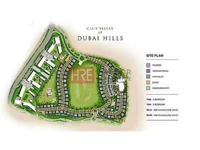 3 Bedroom Villa for Sale in Dubai Hills Estate, Dubai - Resale Full Golf Course View Single Row 45% On Handover 