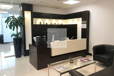 Office for Sale in Jumeirah Lake Towers (JLT), Dubai - High floor | Fitted Office with Partitions