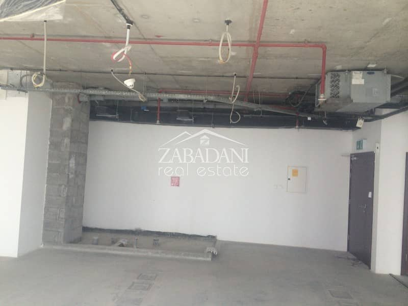 2 Full office floor Shell and Core in Jumeirah Bay X2 in JLT