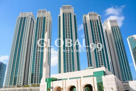 2 Bedroom Flat for Sale in Al Reem Island, Abu Dhabi - Vacant!2BR+Balcony in MH2. Ready to move!