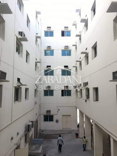 Labour Camp for Sale in Al Quoz, Dubai - No Lease | 12% ROI | Rented labor camp for sale in Al Quoz