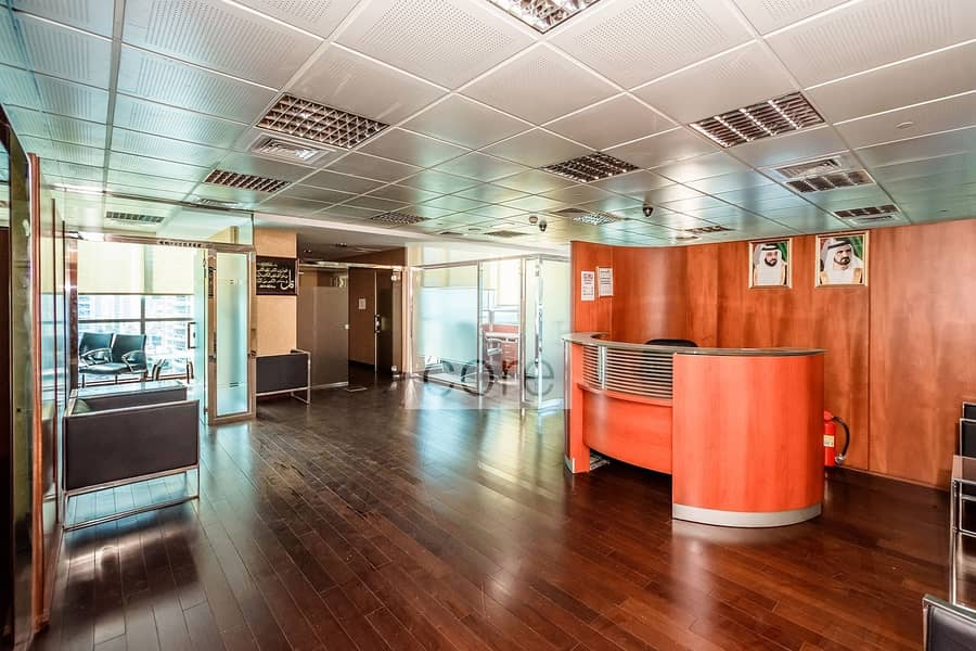 2 Fitted and Partitioned Office | Low Floor