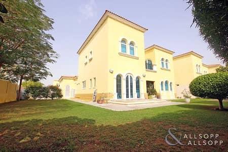 3 Bedroom Villa for Rent in Jumeirah Park, Dubai - Three Bedroom Legacy Villa | Corner Plot
