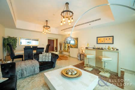 2 Bedroom Apartment for Sale in Dubai Marina, Dubai - 2 Bed + Maid | 2450 sq.ft | Partial Sea View